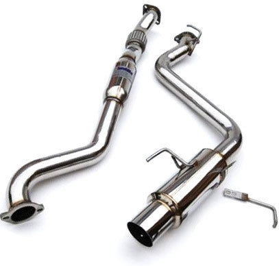 Invidia N1 Catback Exhaust Stainless Steel - 08-14 Sedan WRX/STI
