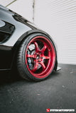F80 M3 on FORGED Advan R6 in Racing Candy Red