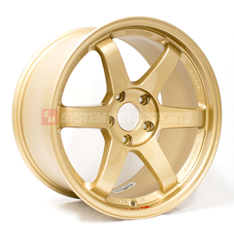 Volk Racing TE37SL - 18x10 +40 5x120 Gold (FK8 Civic Type R Fitment) - *Set of 4*