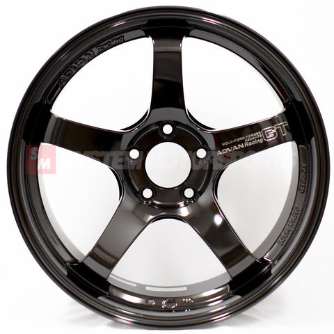 Advan GT Premium - 18x9.5 +45 5x114.3 Smoked Black Limited *Set of 4*