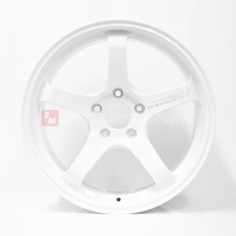 Advan Racing GT Premium - 18x9.5 +38 5x120 Racing White (FK8 Civic Type R Spec)