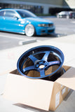 *SET of 4* Advan GT Premium 19x9.5 / 19x10.5 - BMW F80/F82 M3/M4 Fitment - Racing Titanium Blue