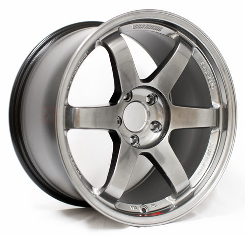 Volk Racing TE37SL - 18x9.5 +38, 5x114.3 Formula Silver *Set of 4*