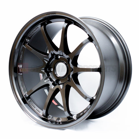 Rays Volk CE28 Club Racer II Black Edition - 17x9 +41 5x100 Diamond Dark Gunmetal *Set of 4*