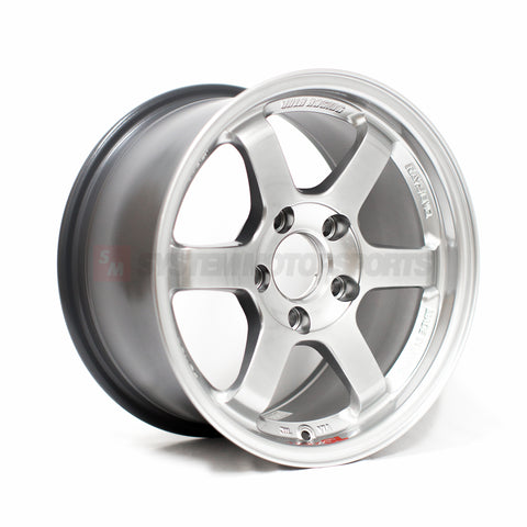 Rays Volk Racing TE37SL - 15x8 +32 5x114.3 Mercury Silver *Set of 4*