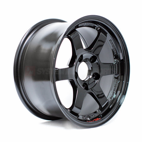 Rays Volk Racing TE37SL - 15x8 +32 5x114.3 Gloss Black *Set of 4*