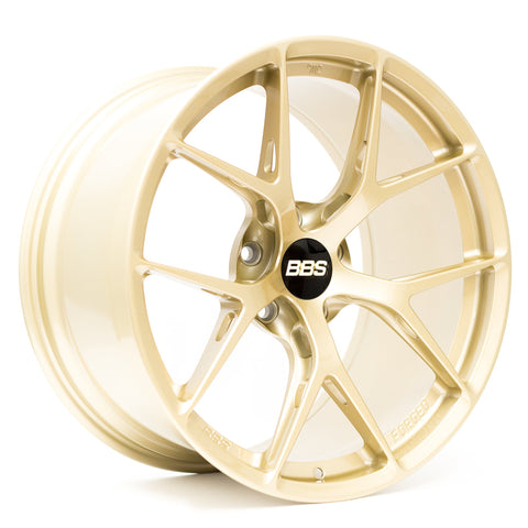 BBS FI-R - 19x9.5 +22 / 19x10.5 +35 5x120 Gold *Set of 4*