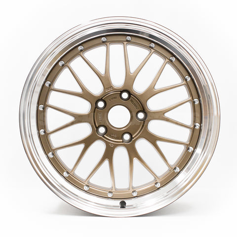 BBS LM - 19x9.5 +22 / 19x11 +37 / 5x120 - Bronze *Set of 4*