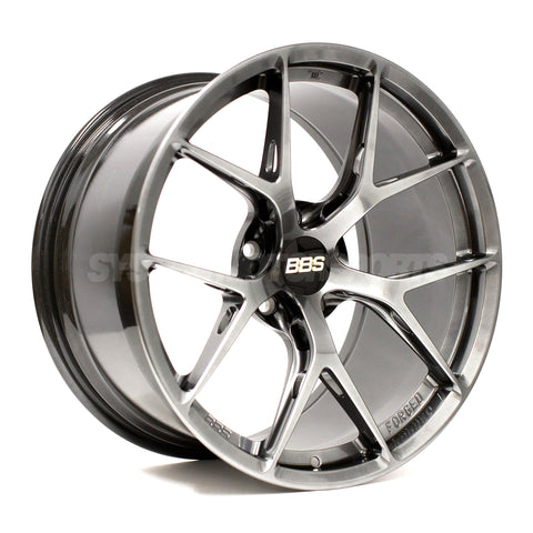 BBS FI-R - 19x9.5 +22 / 19x10.5 +35 5x120 Diamond Black *Set of 4*