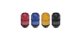 Project Kics Leggdura Racing 2-piece Shell - 35mm Lugnuts and Locks (CL35)