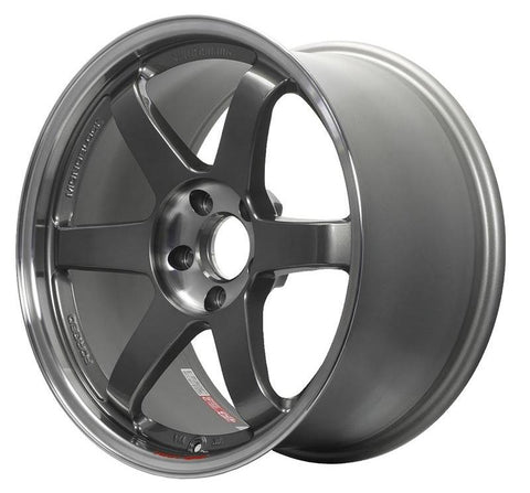 TE37SL 18x9.5 +38 5x120 Civic Type R Fitment (2017+) at System Motorsports
