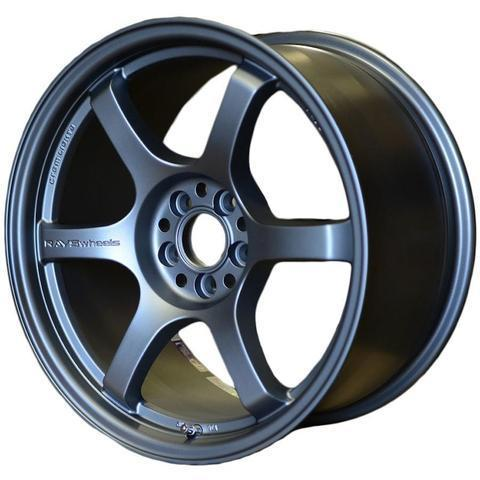 Gram Lights 57DR - 19x9.5 +25 / 19x10.5 +35 5x120 - Gun Blue II *Set of 4*