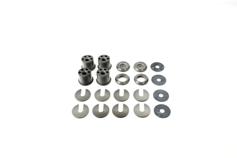 Voodoo13 Solid Subframe Conversion Bushings - Nissan 240SX (1989-1994)