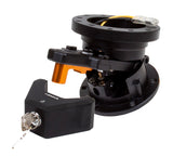 NRG Flip-up Steering Wheel Hub System w/ Lock - Black (SRT-100BK)