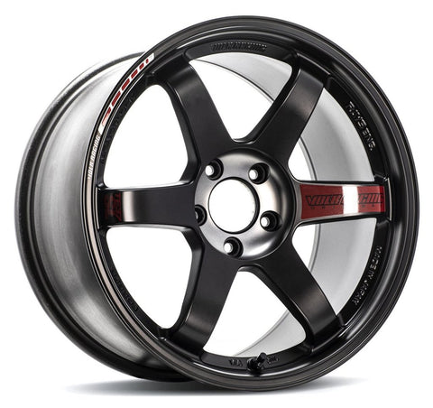 Rays Volk Racing TE37SL Black Edition III - 18x10.5 +34 5x112 Pressed Black / REDOT *Set of 4*