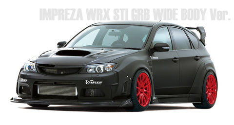 Varis Subaru GRB 2008-2014 WRX/STI Wide Body - Full Kit C (FRP) + VSDC F/Diffuser  Runduce Kit