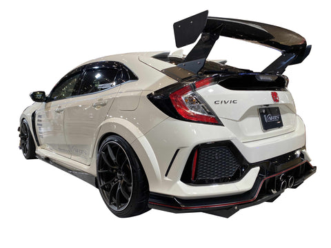 Varis GT-Wing with Mount Bracket for Street II (1520mm, Carbon) - Honda Civic Type R FK8 2017+