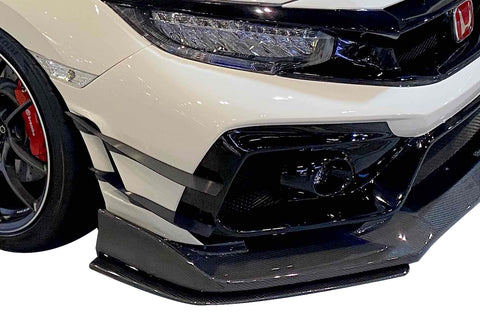 Varis Arising II Double Canards - FK8 Honda Civic Type R