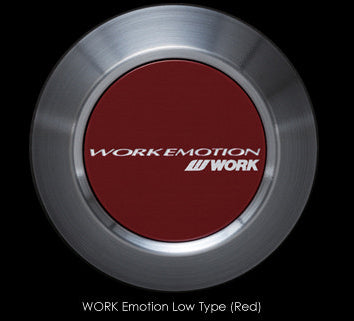 Work Emotion Wheel Center Cap (High Type) - Red