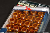 Work RS-R Lug Nuts - Orange