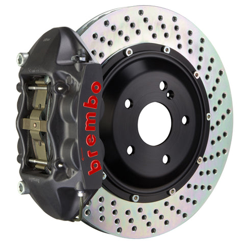 "Brembo GT-S Big Brake Kit (Rear) - 345x28mm (13.6"") 4-Piston Caliper 90-05 Acura NSX - GT-S-2P-.8055A"
