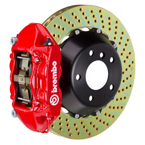 "Brembo GT Big Brake Kit (Rear) - 345x28mm (13.6"") 4-Piston Caliper Acura NSX - GT-2P-.8055A"