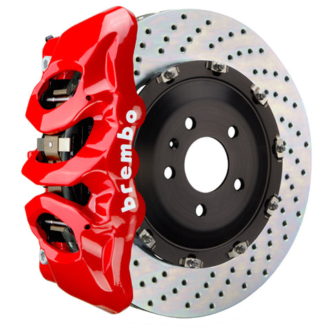 "Brembo GT Big Brake Kit (Front) - 380x34mm (15"") 6-Piston Caliper BMW F8x M3/M4 (Carbon Ceramic-Brake Equipped) - GT-1T-.9001A"