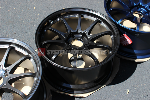 CE28SL Diamond Black (18x9.5 +35 5x120) FK8 Civic Type R Fitment
