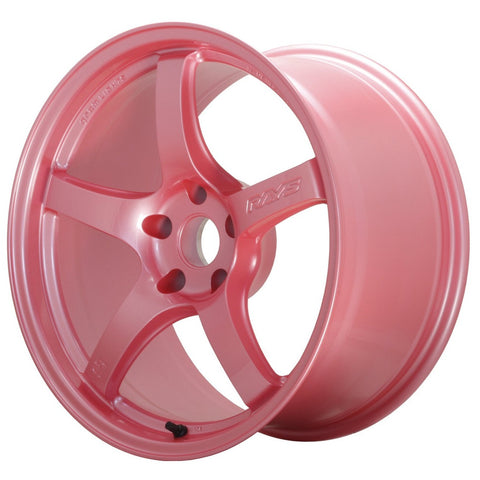 Gram Lights 57CR - 18x9.5 +38 5x100 Sakura Pink