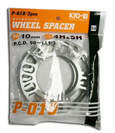 Project Kics Universal Plate Spacers - 10mm