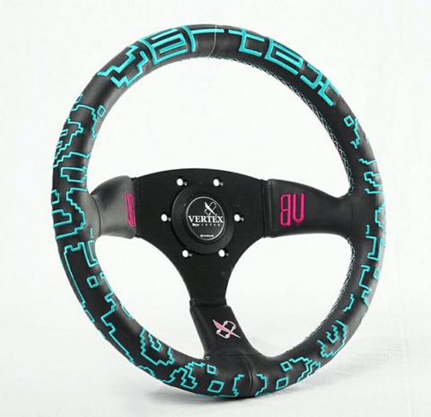 Vertex x Bowz Collaboration Steering Wheel - 325mm