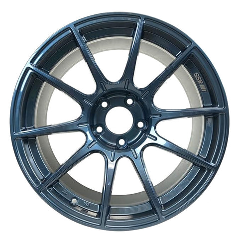SSR GTX01 for Civic Type R FK8 (2017+) - 19x9.5 +38, 5x120 Blue Gunmetal