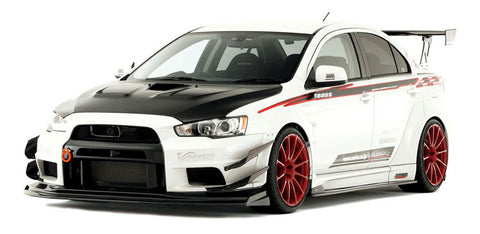 Varis Mitsubishi EVO X Wide Body - Full Kit D (Carbon) + Front Diffuser (VSDC)