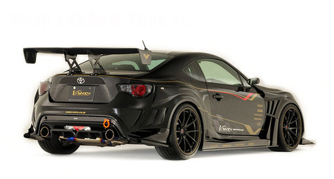 Varis Carbon GT Wing - Euro Edition - 1580mm (ALL Carbon) - 2013+ Scion FRS / Subaru BRZ / Toyota GT86