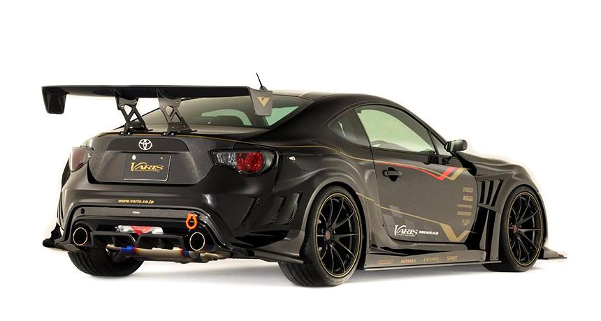 varis complete widebody kit a scion frs subaru brz toyota gt86 system motorsports. Black Bedroom Furniture Sets. Home Design Ideas