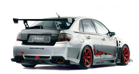 Varis Subaru WRX/STI (08-14) GVB Wide Body - Full Kit D + Front Diffuser - Carbon (VSDC)