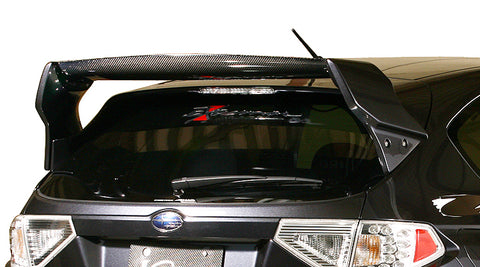 Varis STI Rear Hatch Wing Ver. 1 - GRB STI/WRX Hatch 08-14