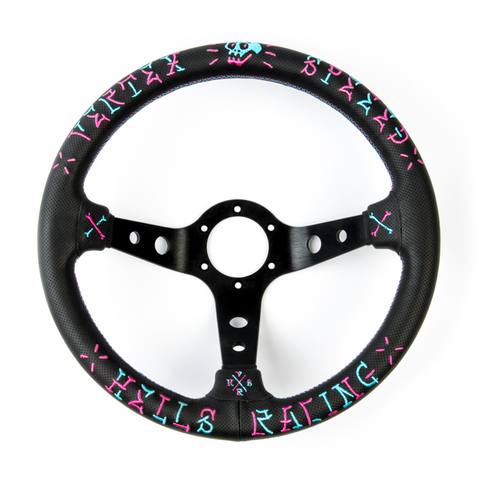Vertex SPEED Steering Wheel - 350mm (STW-VERSPD-PINK)