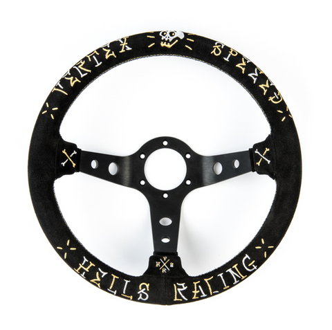 Vertex SPEED Steering Wheel - 330mm (STW-VERSPD-GLD-SDE)