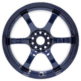 Gram Lights 57DR - 18x9.5 +22 5x114.3 Eternal Blue Pearl *Set of 4*