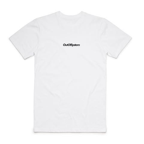 Out Of System - Basic Tee - White (preorder)