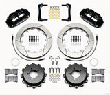 Wilwood Forged Narrow Superlite 4R Big Brake Rear Brake Kit For OE Parking Brake - Scion FRS / Subaru BRZ (Slotted & Drilled)
