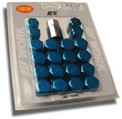 Work Lug Nuts - Blue