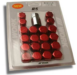 Work Lug Nuts - Red