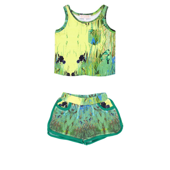 Rushes Top & Short Set