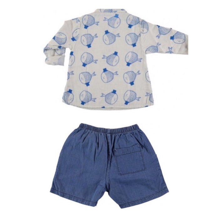 SHIRT & SHORT SET