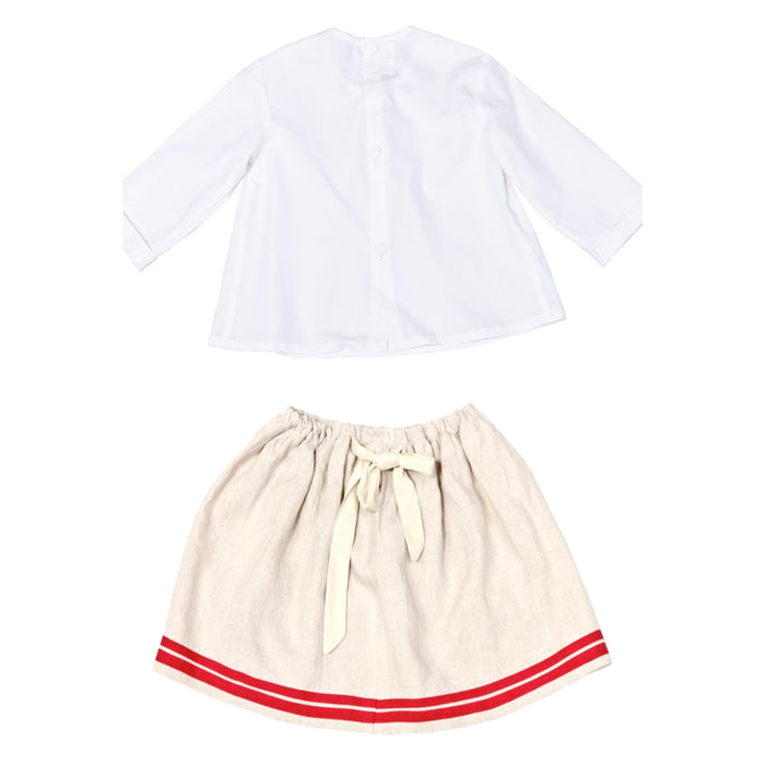 JUNE TOP & FRANCE SKIRT SET