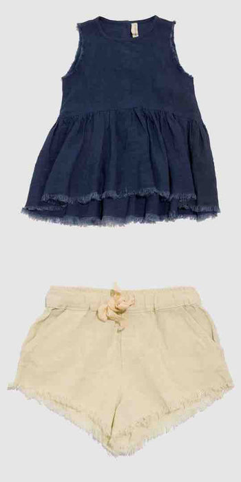 Eliza Smock & Pixie Shorts Set