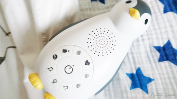 Zoë the penguin – Sound machine and Bluetooth speaker for your baby