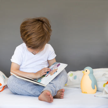 Pam the Penguin – the perks of having a penguin in your nursery